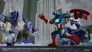 Disney Infinity 2.0 - Figur Captain America - Marvel Super Heroe