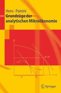 Grundzüge der analytischen Mikroökonomie