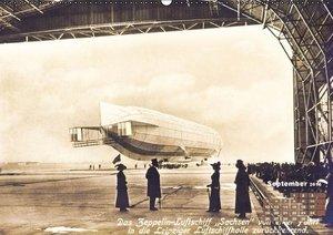 Faszination Luftschiffe - Zeppeline auf historischen Ansichtskar