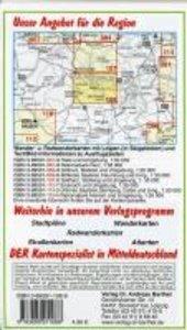 Naturpark Kyffhäuser, Sondershausen und Umgebung 1 : 35 000. Rad