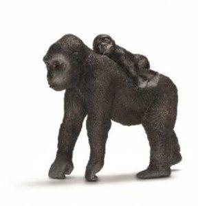 Schleich 14662 - Wild Life: Gorilla Weibchen mit Baby