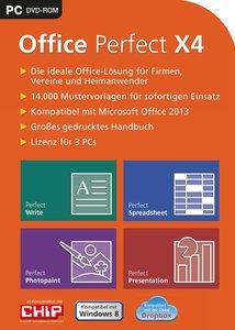 Office Perfect X4 (Textverarbeitung, Tabellenkalkulation, Präsen