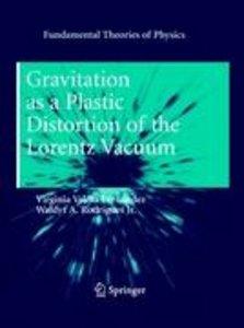 Gravitation as a Plastic Distortion of the Lorentz Vacuum