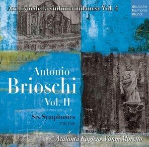 Antonio Brioschi Vol.2-Six Symphonies