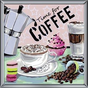 Coffee. Malen nach Zahlen Serie Deco