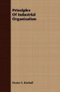 Principles Of Industrial Organization