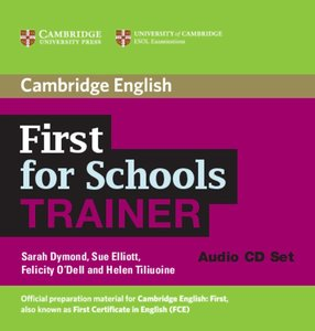 First for schools Trainer / 3 Audio CDs
