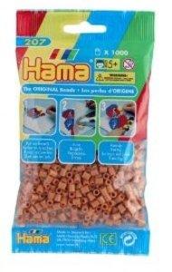 Hama 207-21 - Perlen hellbraun, 1000 Stück