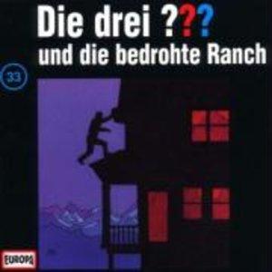 Die drei ??? 033 und die bedrohte Ranch. (drei Fragezeichen). CD