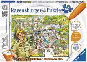 Ravensburger 00524 - tiptoi®, Puzzeln, Entdecken, Erleben: Im Zo
