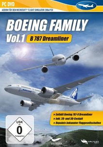 Flight Simulator X - Boing Family Vol. 1 (787)
