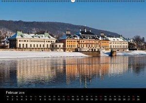 Sächsische Burgen und Schlösser / CH-Version (Wandkalender 2016