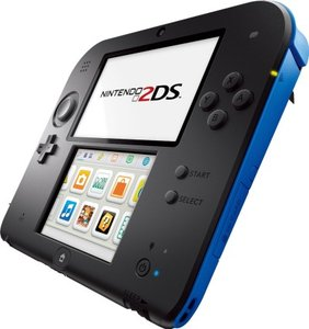 Nintendo 2DS - Konsole - schwarz/blau