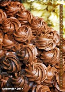 Schokolade: Die hohe Kunst der Patissiers (Wandkalender 2017 DIN
