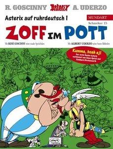 Asterix Mundart 15. Zoff im Pott