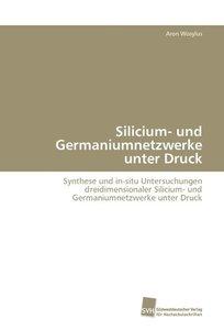 Silicium- und Germaniumnetzwerke unter Druck
