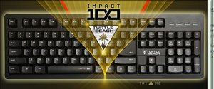 Turtle Beach IMPACT 100 Gaming Keyboard (Tastatur) für PC und Ma
