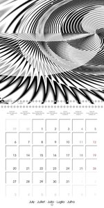Finest Black and White Digital Art (Wall Calendar 2015 300 × 300