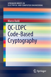 QC-LDPC Code-Based Cryptography