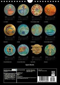 Agora Mundo (Wall Calendar 2015 DIN A4 Portrait)