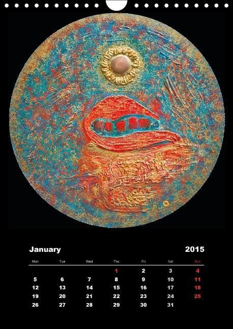 Agora Mundo (Wall Calendar 2015 DIN A4 Portrait) - zum Schließen ins Bild klicken