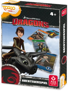 ASS Altenburger Dreamworks Dragons Abenteuerspiel