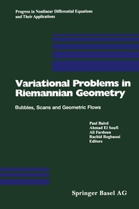 Variational Problems in Riemannian Geometry