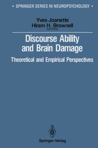 Discourse Ability and Brain Damage