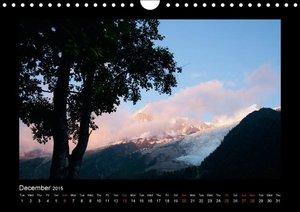 Mont Blanc Circuit (Wall Calendar 2015 DIN A4 Landscape)