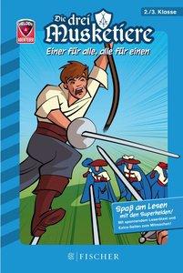 Helden-Abenteuer 04: Die drei Musketiere - Einer für alle, alle