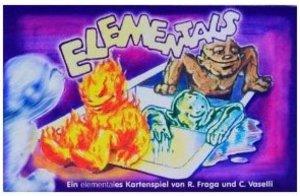 Adlung Spiele - Elementals, Kartenspiel