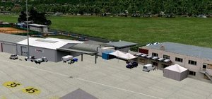 X-Plane 10 - Airport Lugano