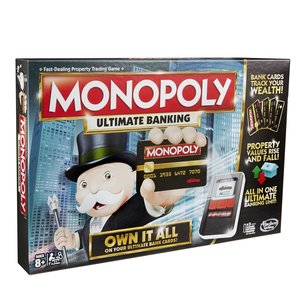Hasbro B6677E39 - Monopoly Banking Ultra, Spiel