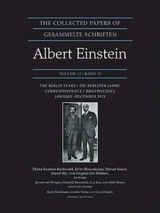 Collected Papers of Albert Einstein 12