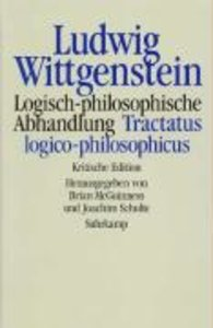 Logisch-philosophische Abhandlung. Tractatus logico-philosophicu