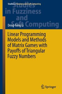 Linear Programming Models and Methods of Matrix Games with Payof