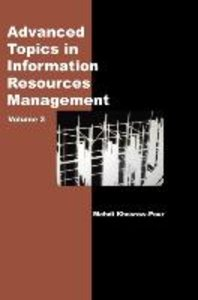 Advanced Topics in Information Resources Management, Volume 3