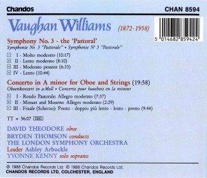 Sinfonie 3/Oboenkonzert