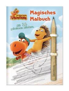 Der kleine Drache Kokosnuss - Magisches Malbuch mit Bleistift
