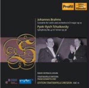 Oistrach/Konwitschny/Staatskapelle Dresden: Violinkonzert/Si