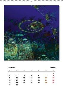 Ästhetisches Chaos - Phantasien (Wandkalender 2017 DIN A2 hoch)