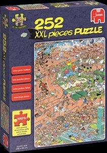 Jumbo Spiele 17218 - JVH: XXL Puzzle, Sportsday, 252 Teile