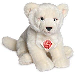 Teddy Hermann 90458 - Löwin weiß 28 cm