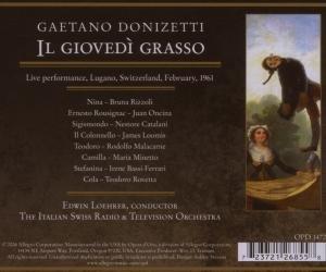 Il Giovedi Grasso (lugano 1961)