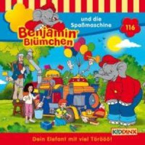 Benjamin Blümchen 116. Die Spaßmaschine