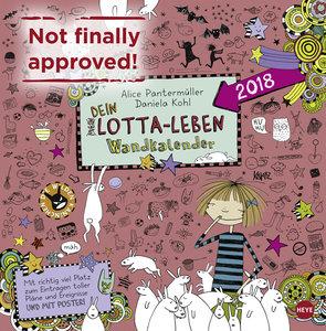Lotta-Leben Broschurkalender 2018