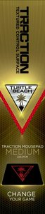 Turtle Beach TRACTION (M) Textured Control Surface Mousepad für