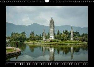 Landscapes of Yunnan (Wall Calendar 2015 DIN A3 Landscape)