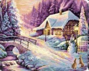 Schipper 609130504 - Der Winter, MNZ, Malen nach Zahlen