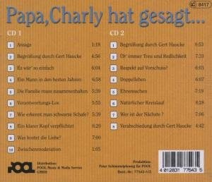 Papa, Charly hat gesagt. 2 CDs